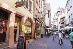 Colmar, de Elzas, Frankrijk Stock Foto