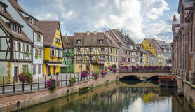 Colmar, Elsass, Frankreich stockfotografie