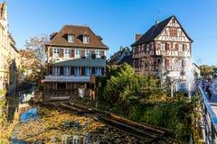 Colmar in Elsass, Frankreich lizenzfreies stockfoto
