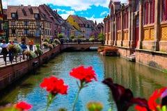 Colmar - França Foto de Stock Royalty Free