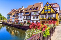 Colmar, France. stock photography