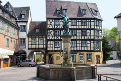 Colmar, France Cidade medieval no centro de Europa Imagem de Stock