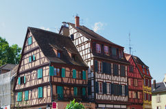 Colmar, France:  half-timbered houses Stock Images