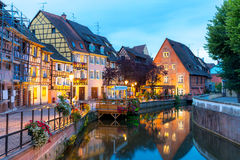Colmar France Night Stock Images