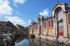 Colmar, France:  the Petit Venice district. Royalty Free Stock Photos