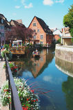 Colmar, France:  the Petit Venice district. Stock Photography