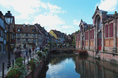 Colmar, France:  the Petit Venice district. Stock Photo