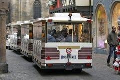 Colmar, France - train de touristes Photographie stock libre de droits