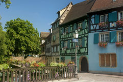 Colmar in Francia Immagini Stock Libere da Diritti