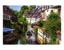 Colmar Francia Fotografia Stock Libera da Diritti