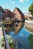 Colmar, Francja: petit Wenecja okręg Fotografia Stock
