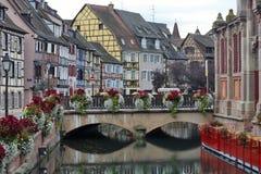 Colmar, Frankreich - Le Petite Venise Stockfotos