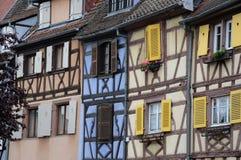Colmar in Frankrijk Stock Afbeeldingen