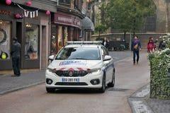Colmar, Frankrijk - de gemeentelijke Politie Royalty-vrije Stock Foto's