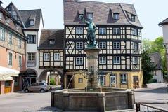 Colmar, Frankrijk Middeleeuwse stad in het centrum van Europa Stock Afbeelding