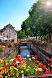 Colmar fransk destination Royaltyfri Bild
