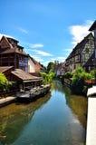 Colmar fransk destination Arkivbild
