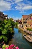Colmar fransk destination Fotografering för Bildbyråer