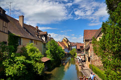 Colmar, French destination Royalty Free Stock Photography