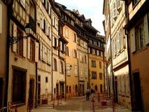 Colmar gammal stad Arkivfoto