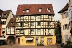 Colmar gammal stad, Frankrike royaltyfria foton