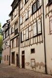 Colmar gammal stad, Frankrike fotografering för bildbyråer