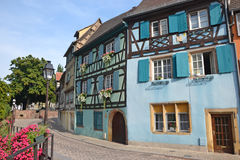 Colmar Houses Stock Images