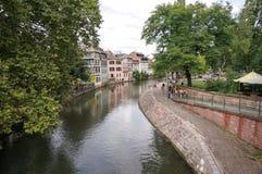 Colmar kanal Arkivbilder