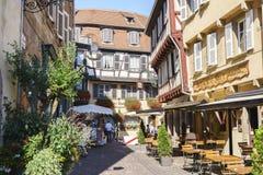 Colmar, l'Alsazia, Francia Immagini Stock Libere da Diritti