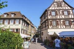 Colmar, l'Alsazia, Francia Fotografia Stock