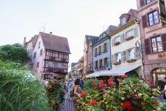Colmar, l'Alsazia, Francia Fotografie Stock Libere da Diritti