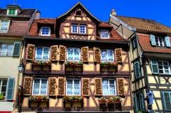 Colmar, l'Alsazia, Francia Immagine Stock Libera da Diritti