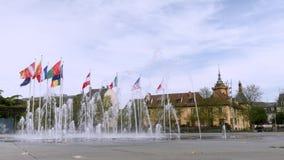 Colmar, miasto Alsace w Francja zdjęcie wideo