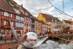 Colmar. Old half-timbered houses. Royalty Free Stock Photography