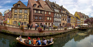 Colmar Panorama Royalty Free Stock Photography