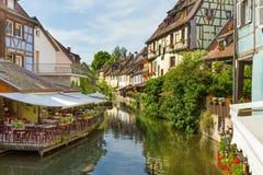 Colmar, Petit Venice, Alsace, France. Stock Image