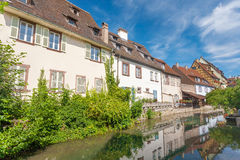 Colmar, Petit Venice, Alsace, France. Royalty Free Stock Photo