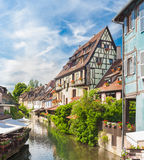 Colmar, Petit Venice, Alsace, France. Royalty Free Stock Photography