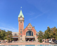Colmar railway station building Stock Images