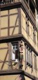 Colmar romantic town in Alsace Royalty Free Stock Photos