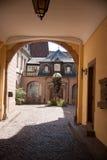 Colmar romantic town in Alsace Stock Image