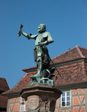 Colmar romantic town in Alsace Royalty Free Stock Photo