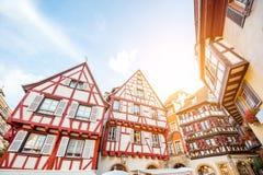 Colmar-Stadt in Frankreich stockfotografie