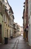 Colmar street scenery Stock Image