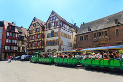 Colmar town in Alsace region. Stock Photography