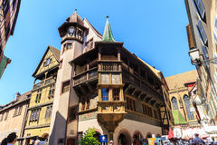 Colmar town in Alsace region. Royalty Free Stock Image