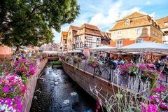 Colmar town in France Stock Images