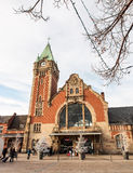 Colmar train station in Alsace, France Royalty Free Stock Photos