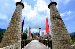 Colmar Tropical, Bukit Tinggi Resort Stock Photo