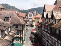 Colmar Tropicale Franse Thematoevlucht Stock Foto